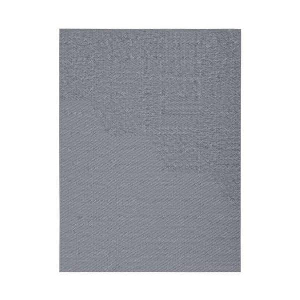 Hexagon szürke tányéralátét, 30x40 cm - Zone