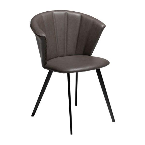 Merge sötétszürke fotel öko bőrből - DAN–FORM Denmark
