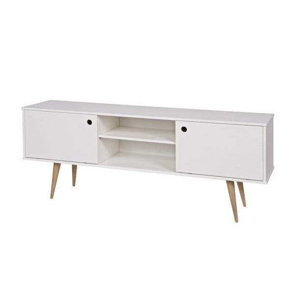 Bílý TV stolek De Eekhoorn Retro