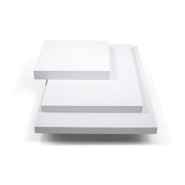 Bílý konferenční stolek TemaHome Slate