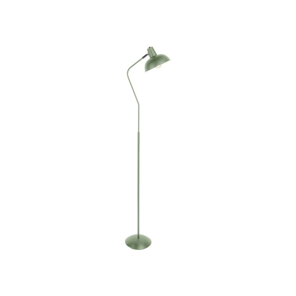Zelená stojací lampa Leitmotiv Hood