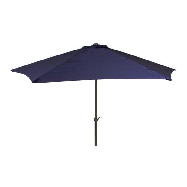 Tmavě modrý zahradní slunečník ADDU Parasol, ⌀ 300 cm