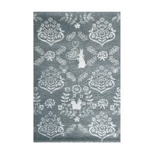 Modrý koberec Art For Kids Rabbit,135x190cm