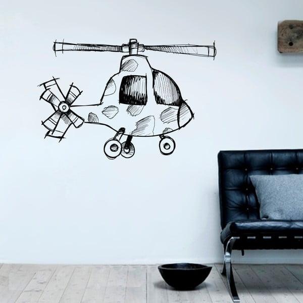 Samolepka Helikoptéra, 90x60 cm