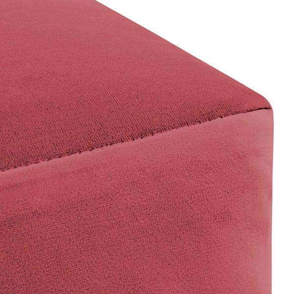 Červený puf Vivonita Grace