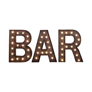 Svítící nápis Bar