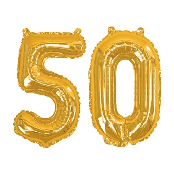 Balon cu numărul 50 Neviti Gold