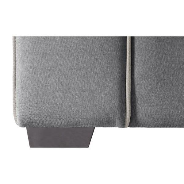 Dvoumístná pohovka Jalouse Maison Serena, šedá