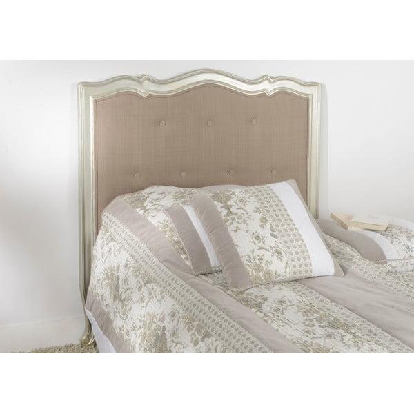 Čelo k posteli Murano Silver, 104 cm