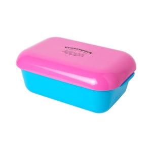 Chladící svačinový box Frozzypack Summer Edition, turquoise/cerise