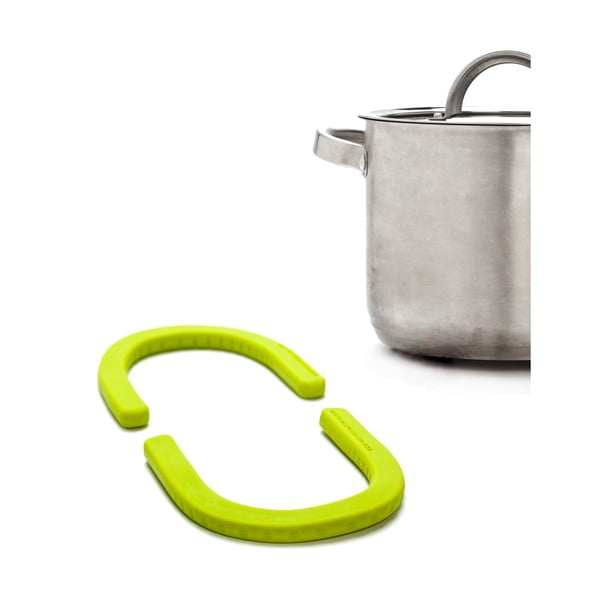 Flexibilní podložka pod hrnce, zelená