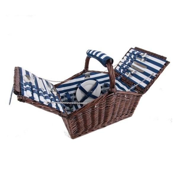Coș picnic pentru 4 persoane  Navigate Coastal