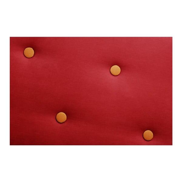 Pohovka Constellation Grand Red s lenoškou na pravé straně