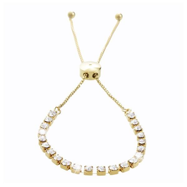 Náramek ve zlaté barvě s krystaly Swarovski® Yasmine Ingred