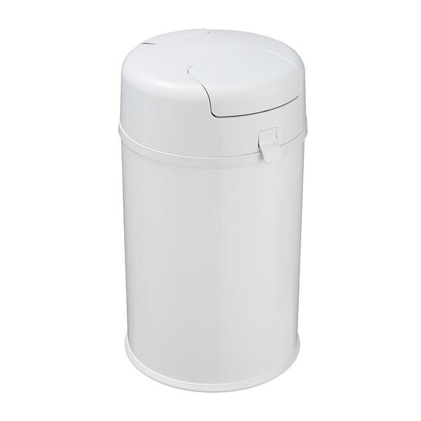 Coș de gunoi pentru scutece Wenko Secura Premium, alb