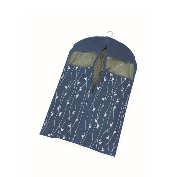 Modrý obal na šaty Cosatto Leaves, délka100cm
