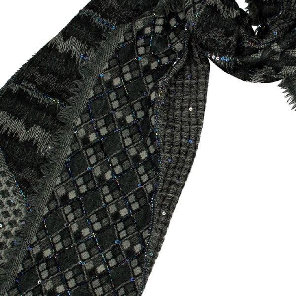 Vlněný šátek Shirin Sehan - Felina Night