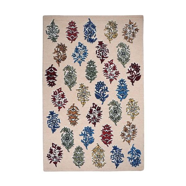 Vlněný koberec Balsam Beige, 160x230 cm