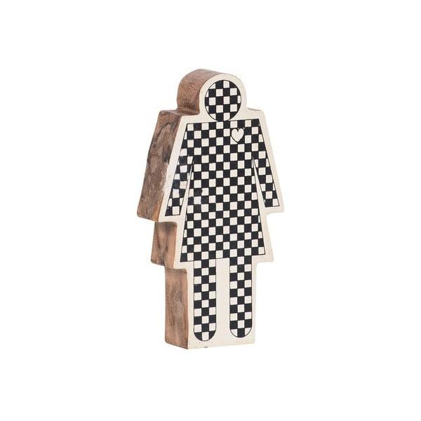 Dřevěná dekorativní figurka Vox Woman