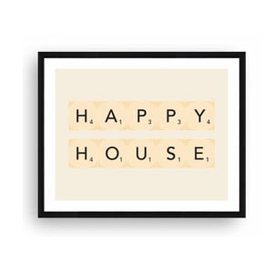 Obraz Really Nice Things Happy House, 40 x 50 cm