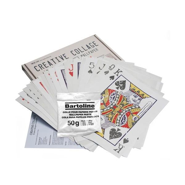 Kreativní koláž Cards