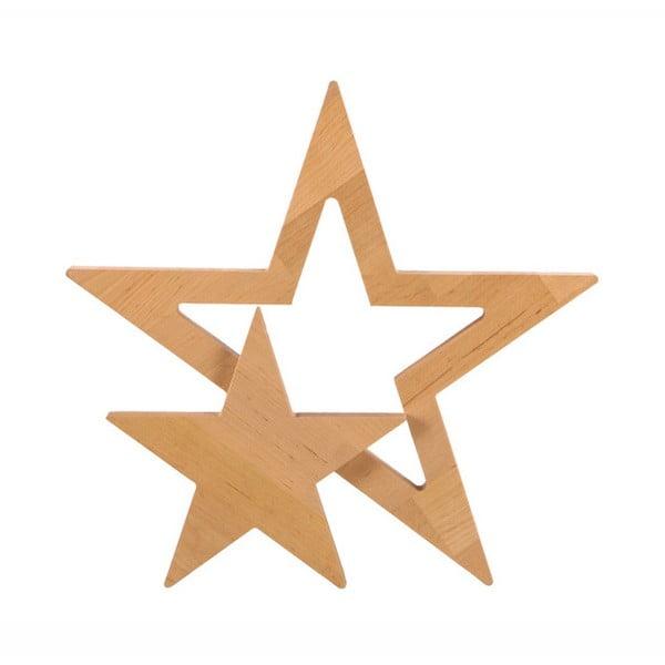 Dekorace z olšového dřeva Nørdifra Star