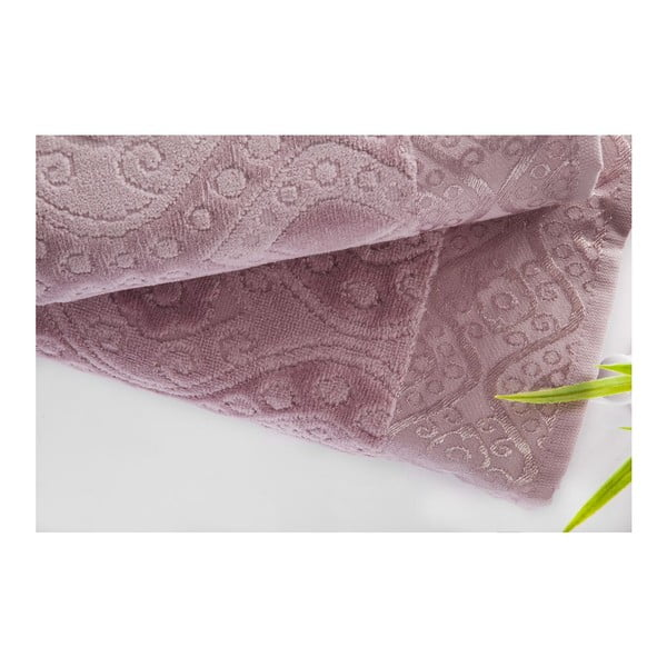 Sada 2ks ručníků Sal Violet, 50x90 cm a 70x140 cm