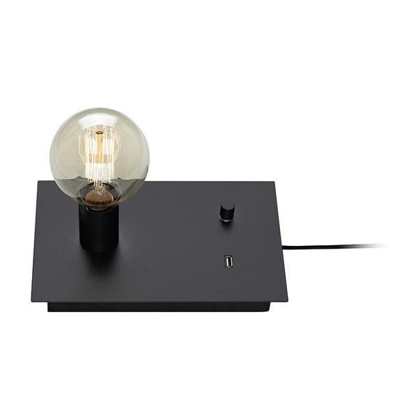 Černá stolní lampa Markslöjd Load