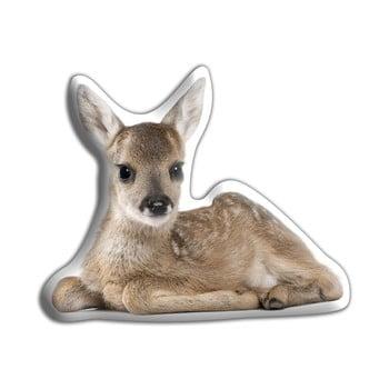 Pernă cu imprimeu Adorable Cushions Pui de cerb de la Adorable Cushions