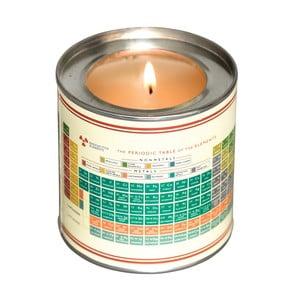 Svíčka s vůni vanilky a pižma Rex London Periodic Table, doba hoření 40hodin
