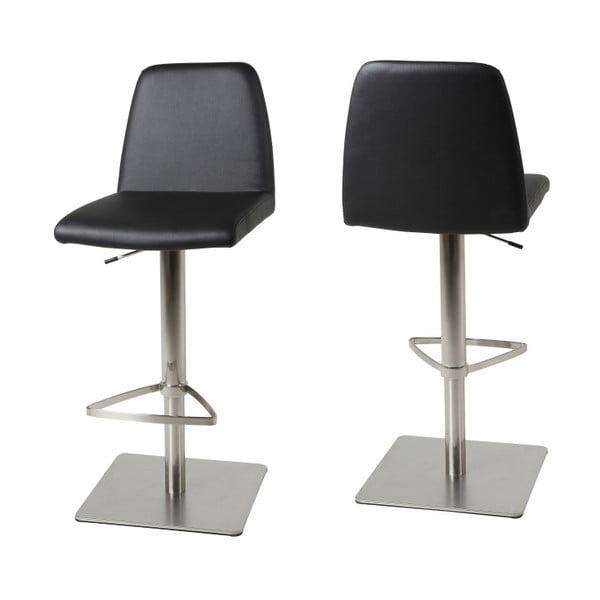 Čená barová židle Actona Amagi
