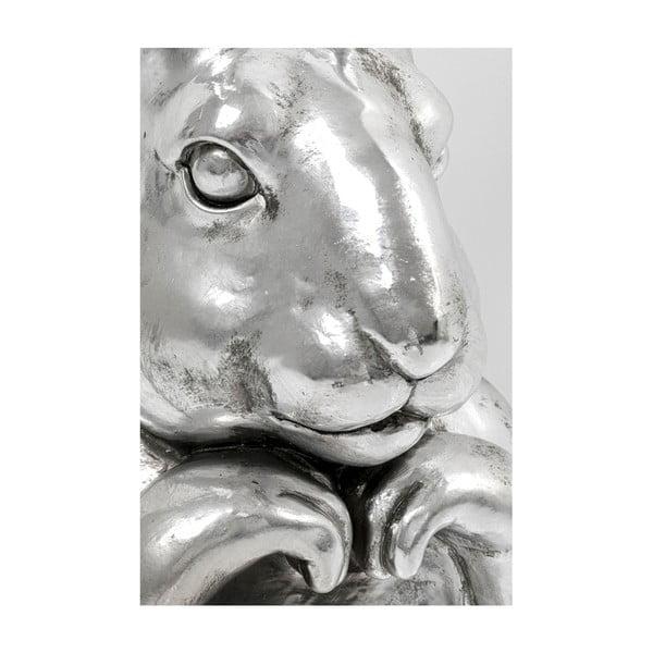 Statuetă decorativă Kare Design Rabbit in Love, înălțime 80 cm