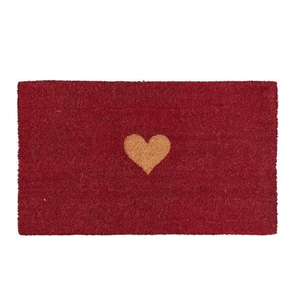 Červená rohožka Clayre & Eef Jolie, 75x45cm