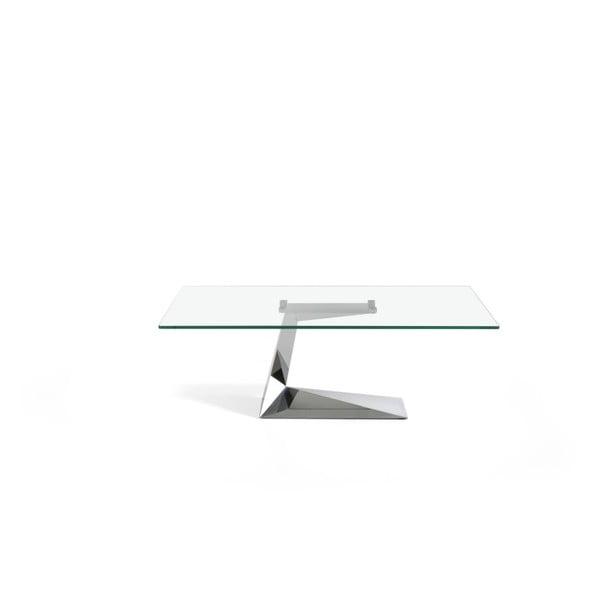 Konferenčný stolík zo skla a kovu Ángel Cerdá Diamond