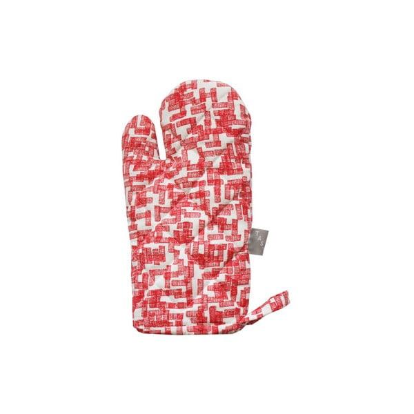 Kuchyňská rukavice Schemer, červená