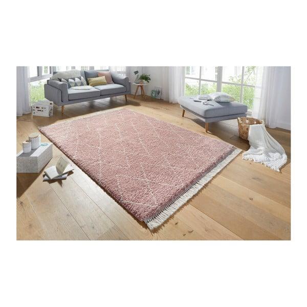 Růžový koberec Mint Rugs Galluya, 200x290cm