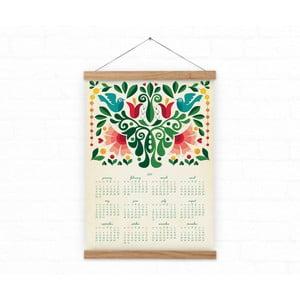 Nástěnný kalendář na rok 2017 Love Birds