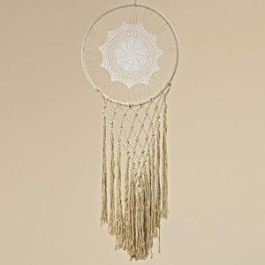 Bílý bavlněný lapač snů Boltze Alessia