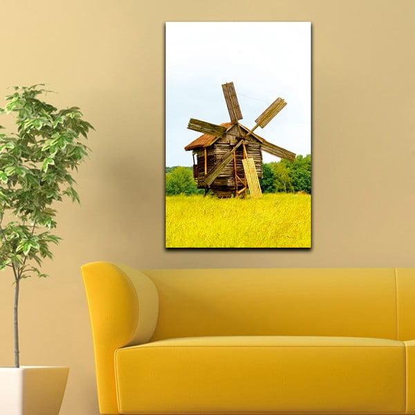 Obraz Dřevěný mlýn, 45x70 cm