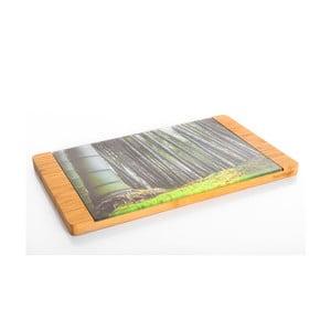 Bambusové krájecí prkénko Tortell, 39x30 cm