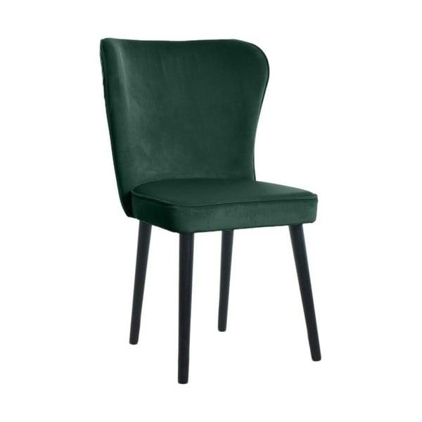 Tmavě zelená jídelní židle JohnsonStyle Odette Riviera