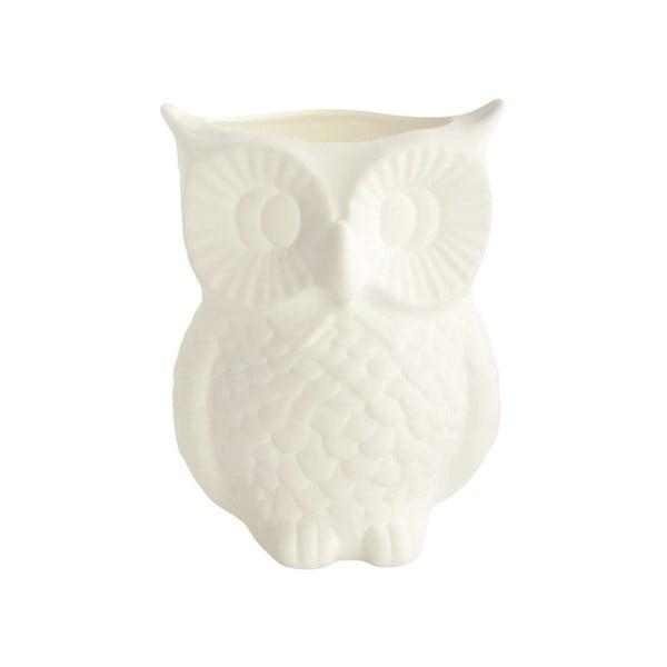 Keramická váza Owl