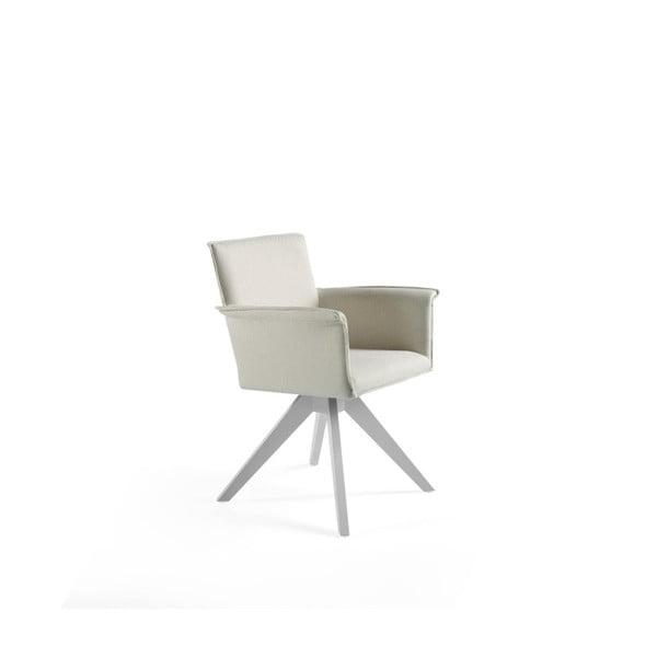 Bílá židle Ángel Cerdá Geronimo