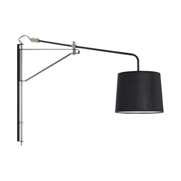 Černé nástěnné svítidlo Markslöjd Pern