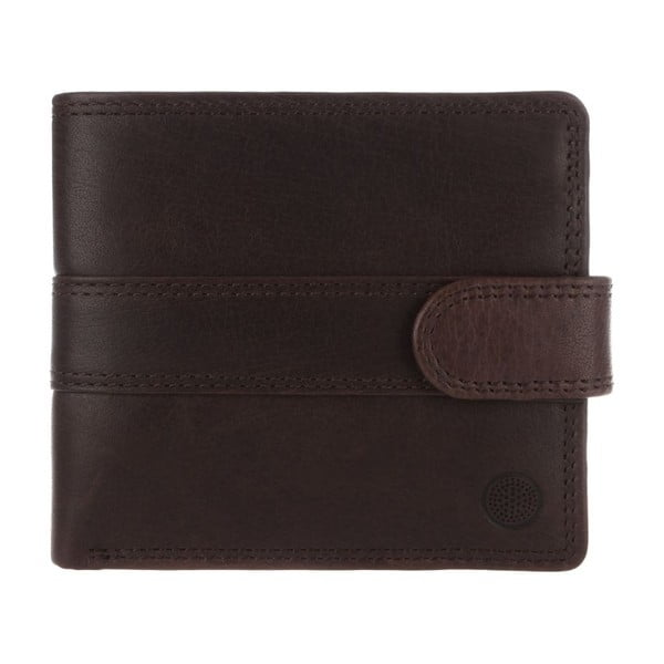 Kožená peněženka Oscar Darkest Brown