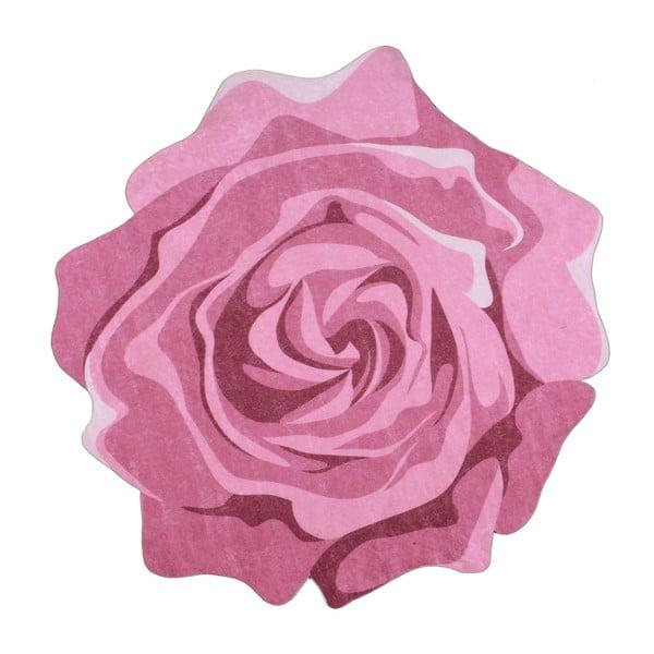 Wytrzymały dywan Vitauss Rose Duro, ⌀ 80 cm