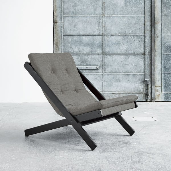 Skládací křeslo Karup Boogie Black/Granite Grey