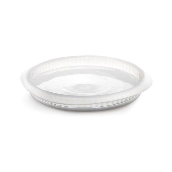 Forma na quiche s keramickým talířem, čirá