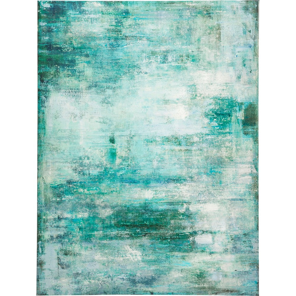 Obraz Kare Design Abstract Blue, 120 x 90 cm