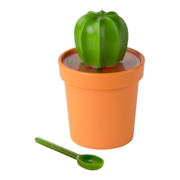 Cacnister narancssárga-zöld doboz - Qualy&CO